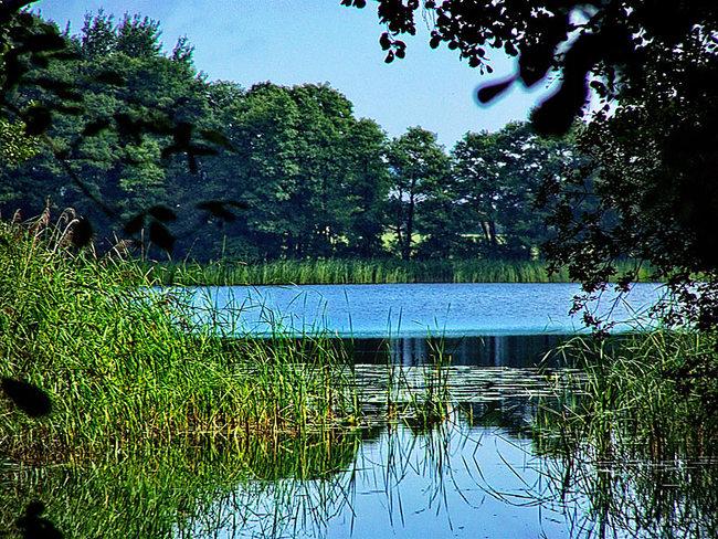 Einfahrt vom Granziner See in Havel nach Granzin