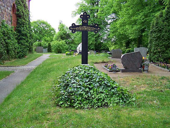 Grab von Schliemanns Mutter