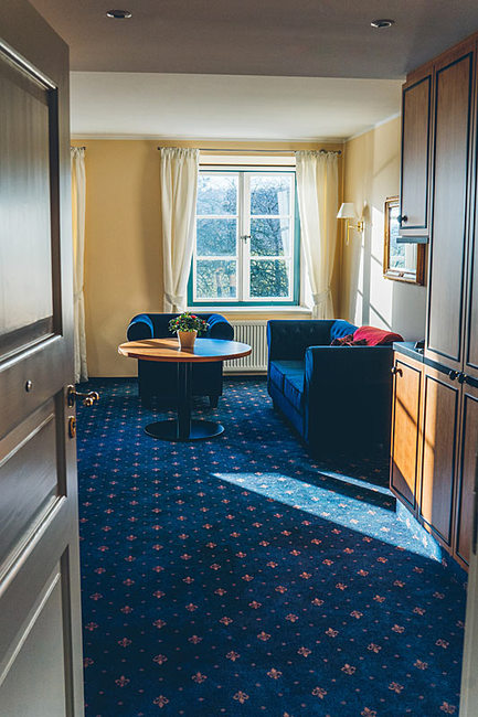 Blick in ein Komfortzimmer