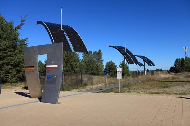 Grenze Deutschland Polen auf Usedom | © Ole Jensen  - stock.adobe.com