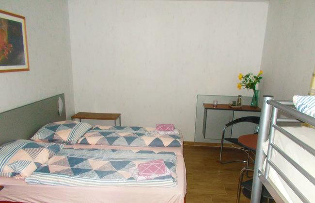 Fewo 1 - Doppelbett im Schlafzimmer