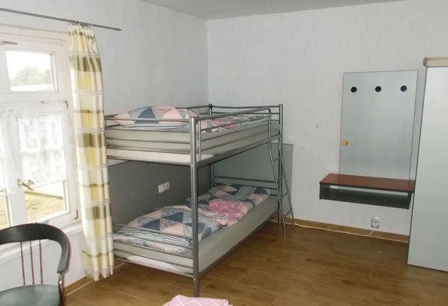Fewo 1 - Etagenbett im Schlafzimmer