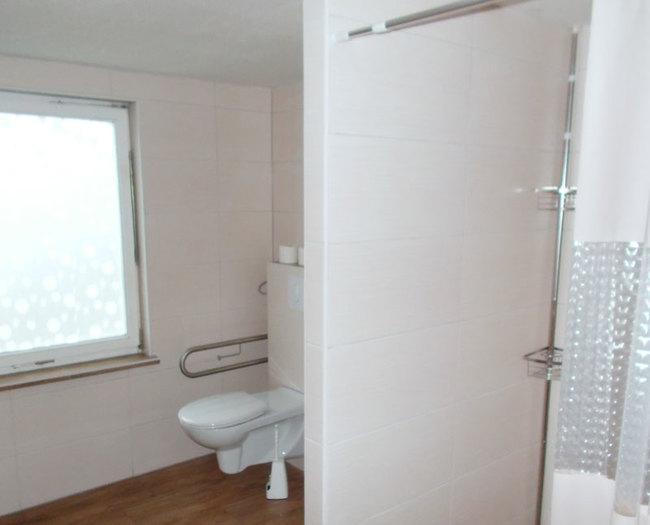 Fewo 2 - Bad mit Dusche & WC