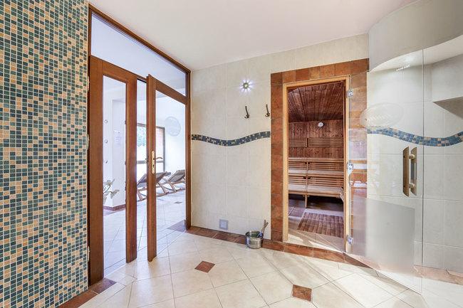 Sauna im Gästehaus - Sauna & Ruhebereich