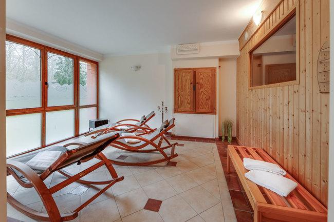 Sauna im Gästehaus - Ruhebereich