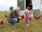 unser mobiler Hühnerwagen