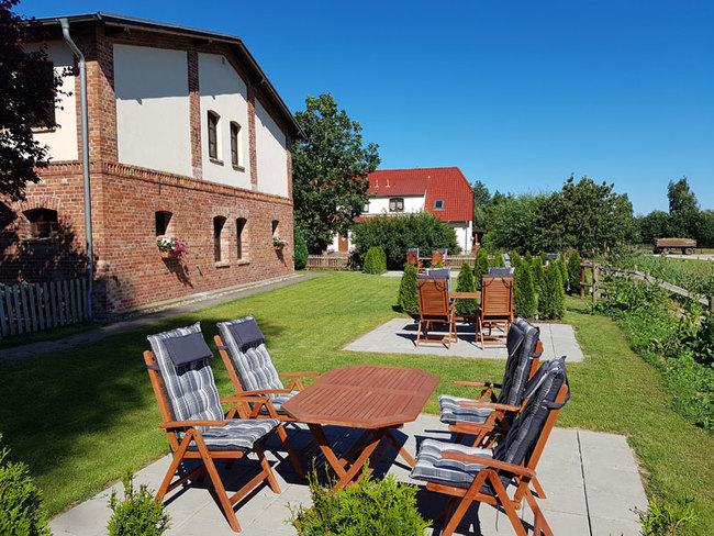 Fewos Stechow mit Terrassen