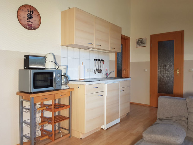Fewo 7 - Wohnbereich mit Miniküche