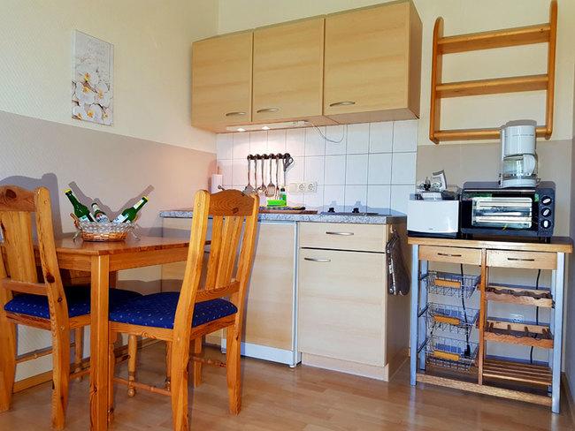 Fewo 8 - Essplatz und Miniküche