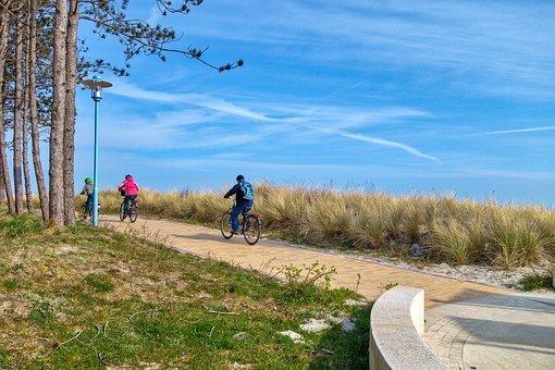 """die """"Kühlung"""" bietet viele Rad- und Wanderwege"""