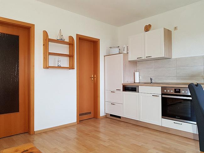 Fewo 4 - Wohnraum mit Küche