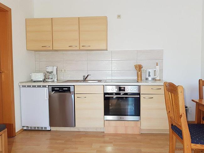 Fewo 5 - Wohnraum mit offener Küche