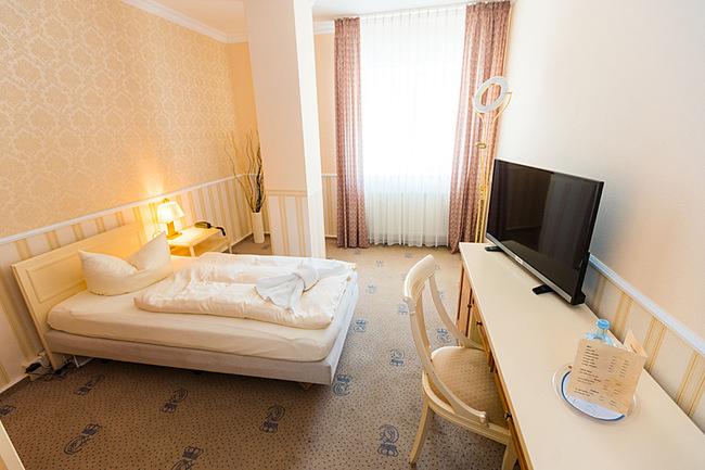Wohnbereich Einzelzimmers