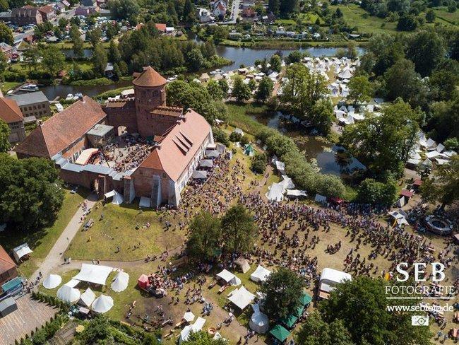 Luftbild Burgfest